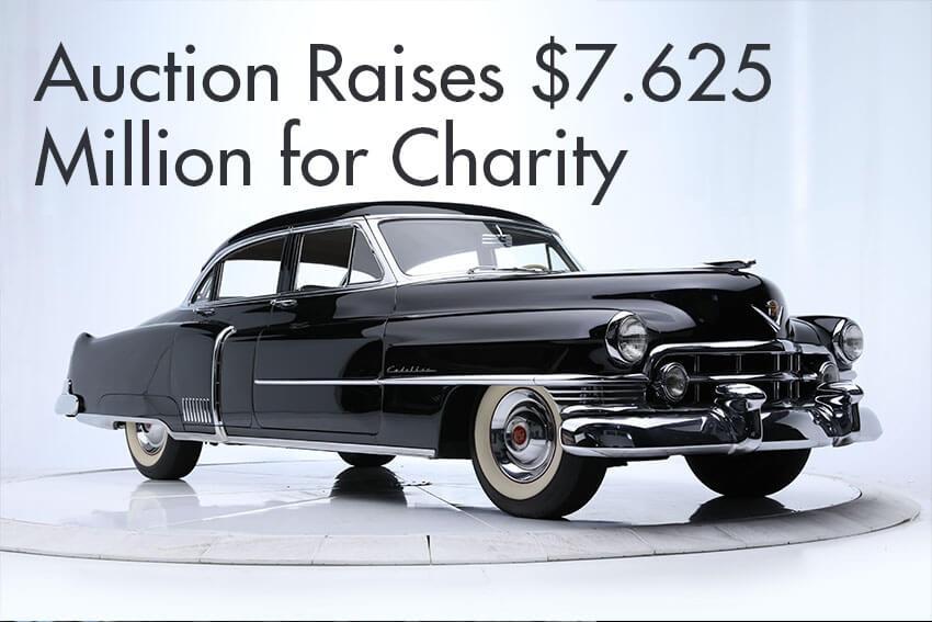 Auction Raises $7.625 Million for Charity