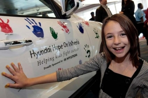 Hyundai Gives Grant for Cancer Fight