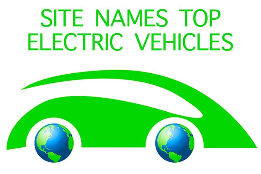 Site Names Top Electric Vehicles