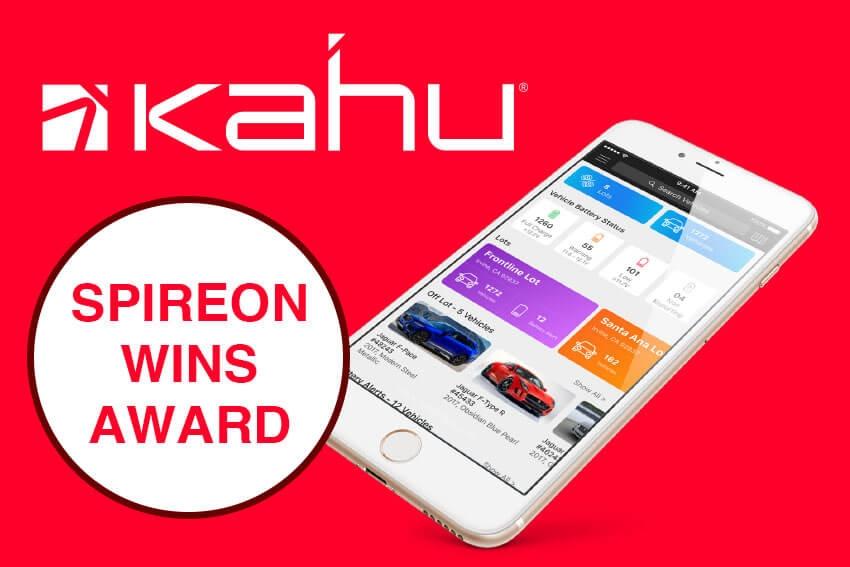 Spireon Wins Award