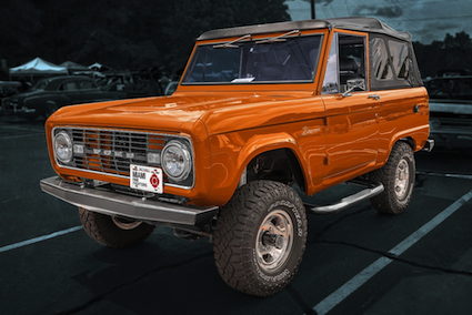 1975 Bronco, the classic years are hot sellers right now