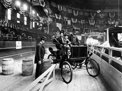 The first New York Auto Show, 1907 Madison Square Garden