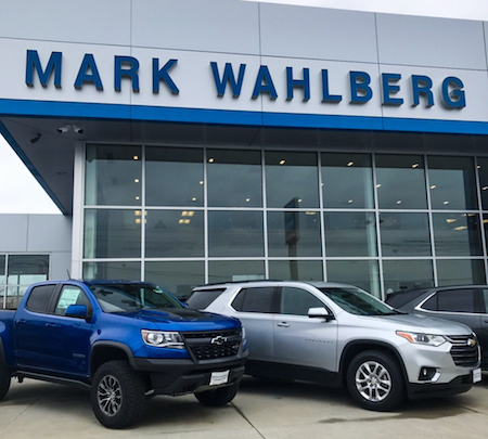 Mark Wahlberg Chevrolet in Columbus, OH.
