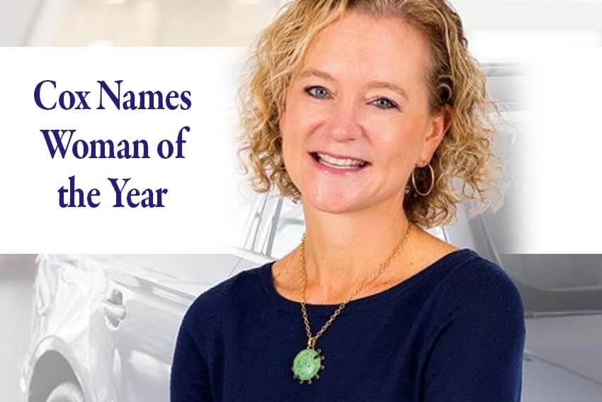 Cox Names Woman of the Year