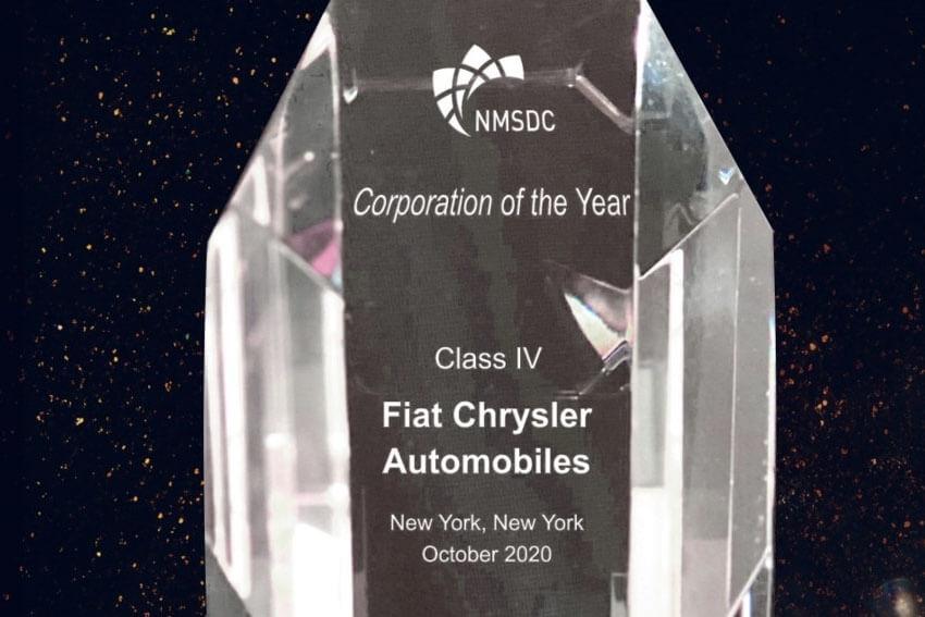 FCA Wins Award