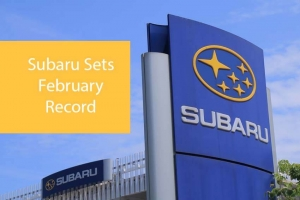 Subaru Sets February Record