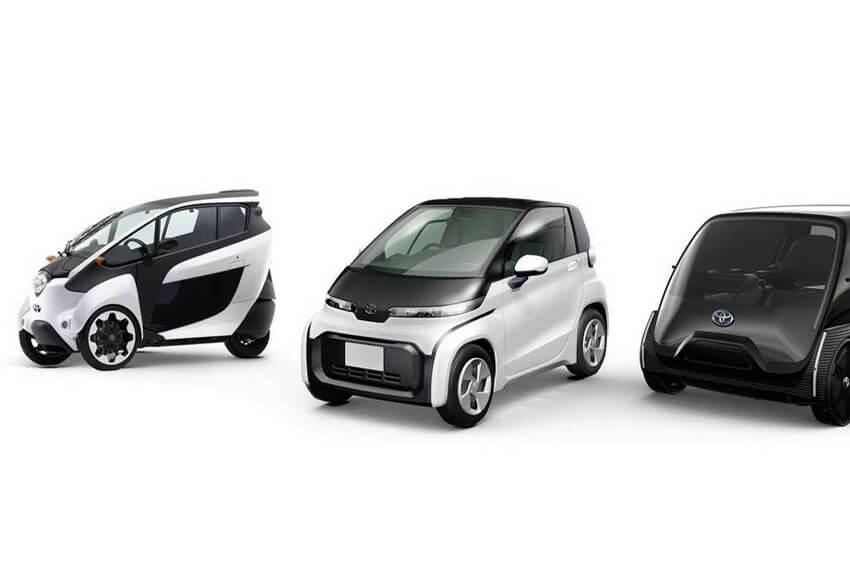 Toyota Plans Three New EV Models