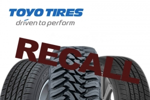 Toyo Recalls Tires That Used Prototype Material