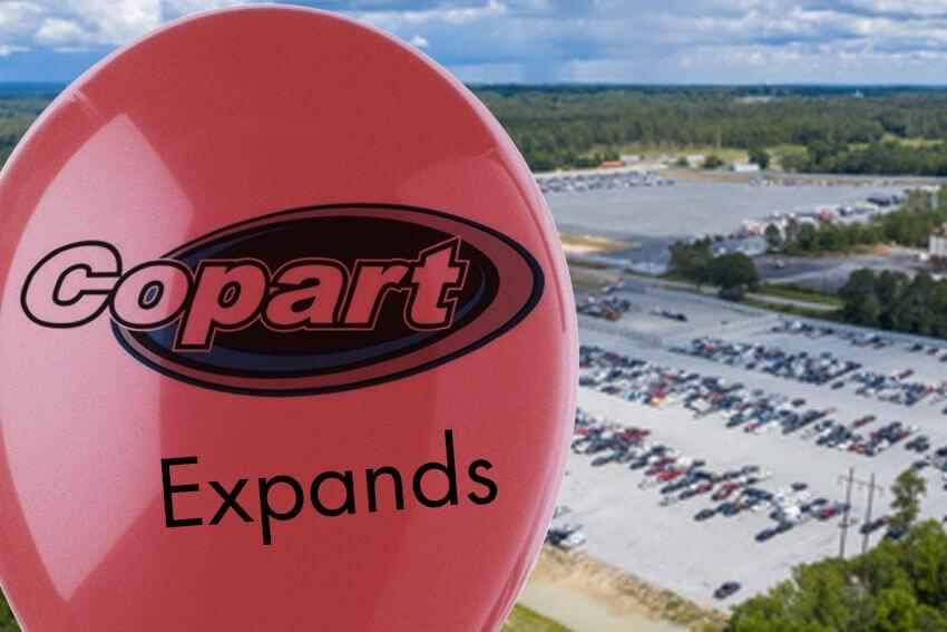 Copart Expands Georgia Facility