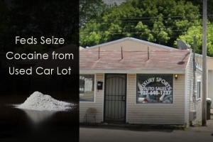 Feds Seize Cocaine from Used Car Lot