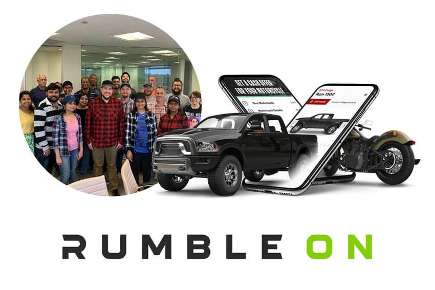 RumbleOn Announces August Launch