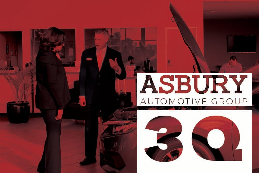 Asbury Reports Strong Q3