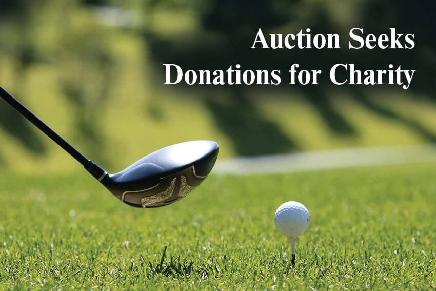 Auction Seeks Donations for Charity