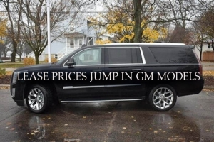 Lease Prices Jump in GM Models