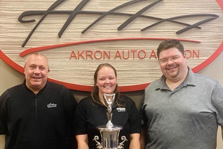 Akron Auto Auction Celebrates Auctioneer