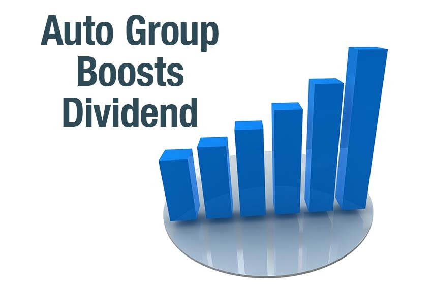 Auto Group Boosts Dividend