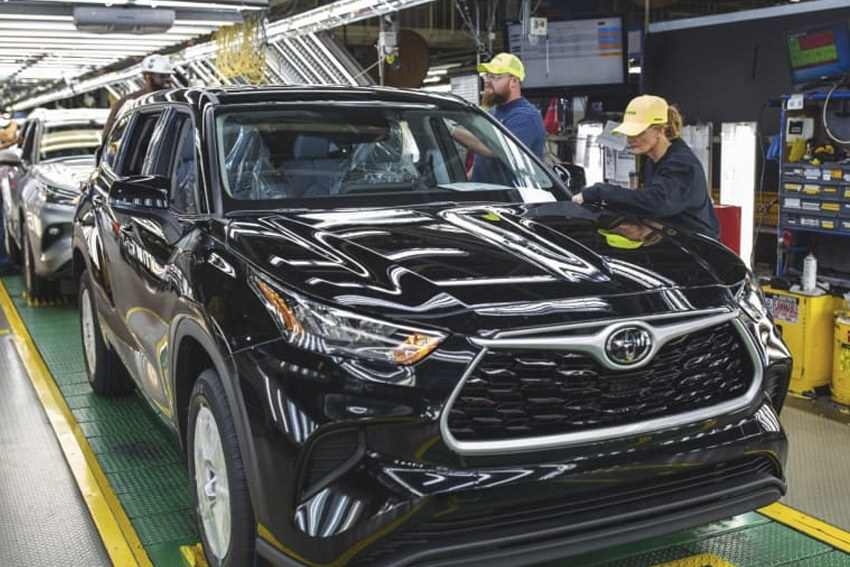Toyota's September Sales Drop from 2020