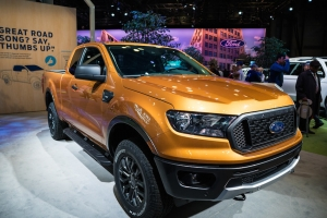 2018 Ford Ranger at the New York International Auto Show, The Javits Convention Center NYC