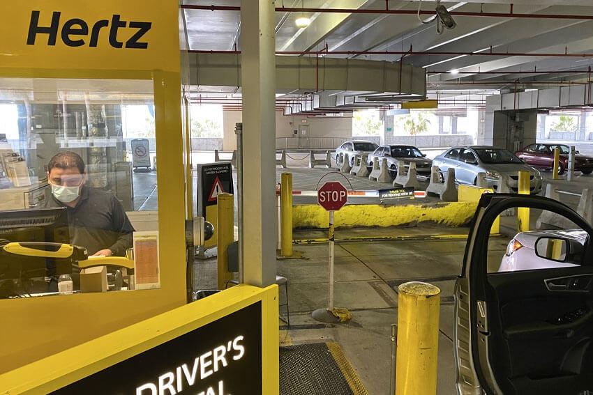 Travel Rebound Helps Hertz