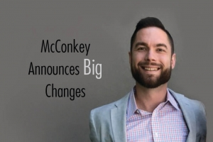 McConkey Announces Big Changes
