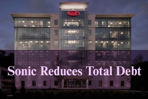 Sonic Reduces Total Debt