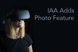 IAA Adds Photo Feature