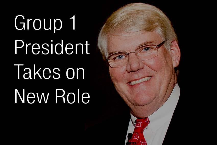 Group 1 President Takes on  New Role