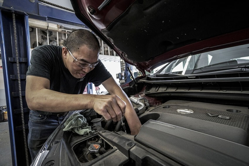 California Tops in Auto Repair Costs