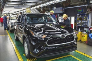 Toyota Finishes Plant Modernization