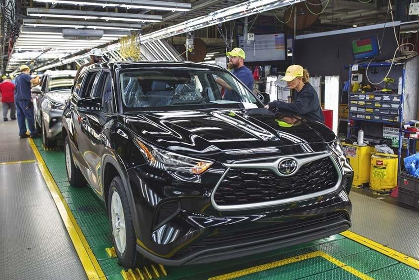 Toyota Finishes Plant Modernization