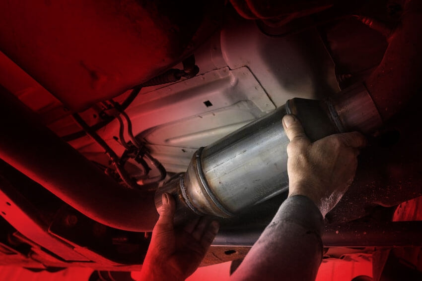 Catalytic Converter Thefts Increase