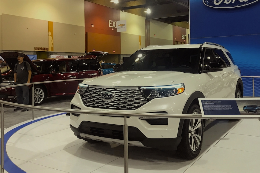 The 2020 Ford Explorer Recalled for the 10th Time in 2020.