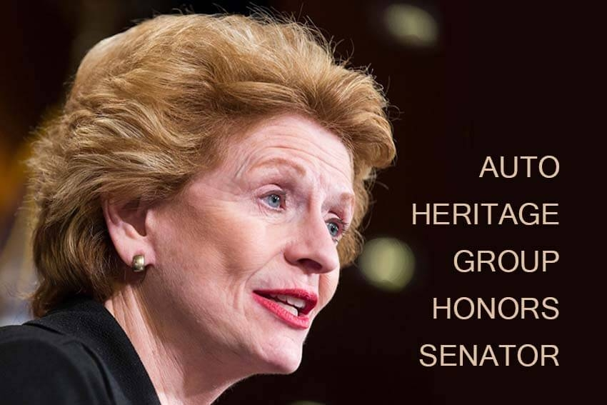 Auto Heritage Group Honors Senator