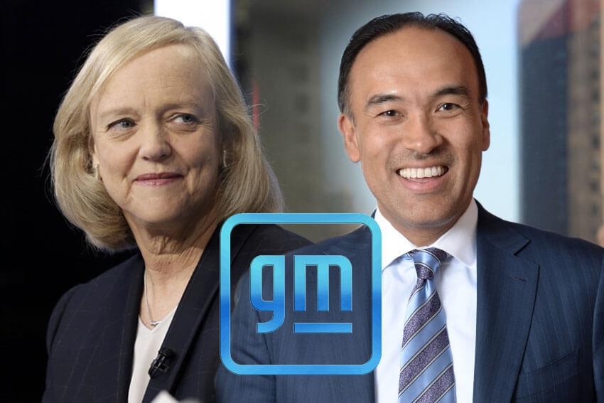 GM Board Adds Former eBay CEO and NBA Exec