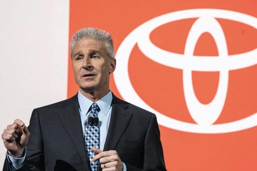 Toyota Makes Exec Changes