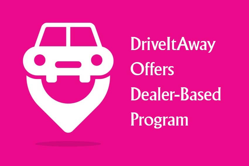 DriveItAway Offers Dealer-Based Program