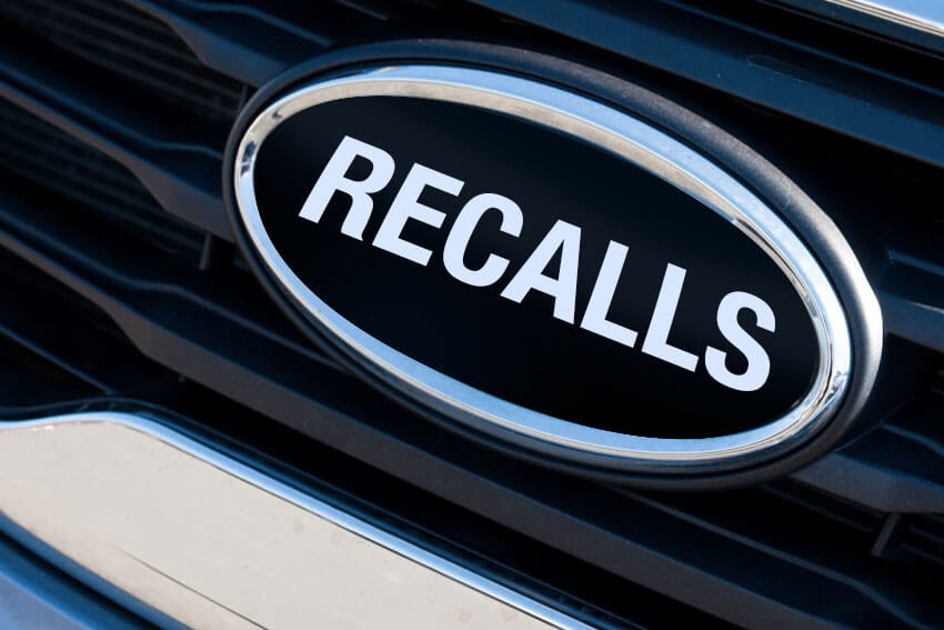 California, Texas Top Open Recall List
