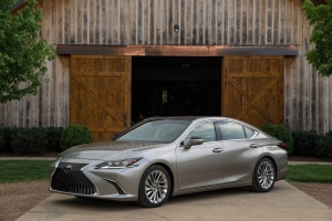 The Lexus ES took top billing with Highest-Ranked Compact Premium Car