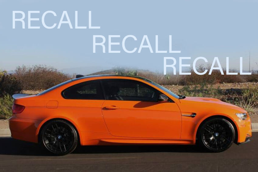 BMW Expands Recall for Potential Power Loss