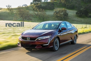 Honda Recalls Fuel Cell Vehicles