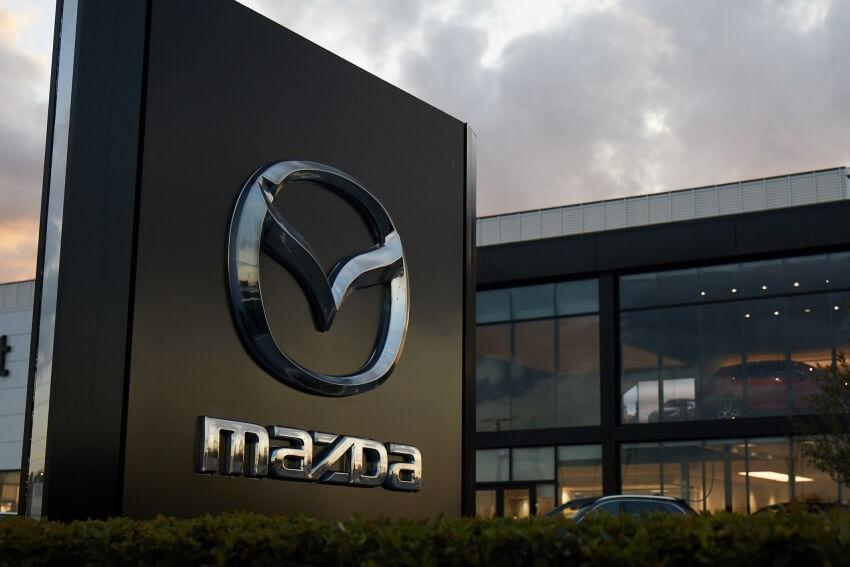 Mazda Reports Sales Dip