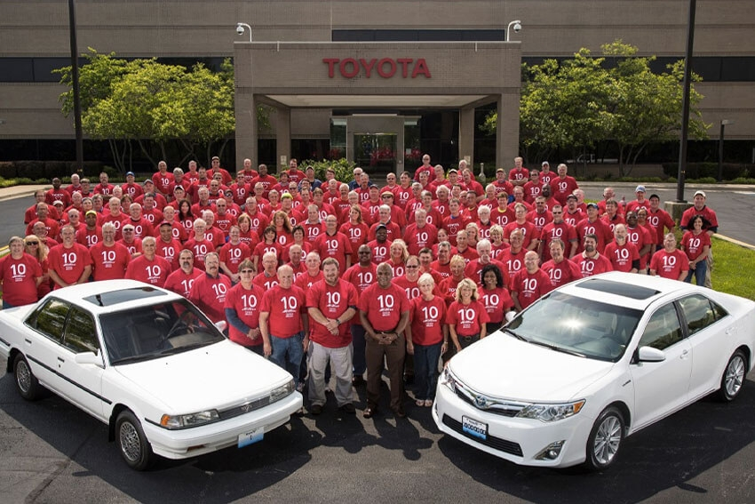 Plant Produces 10 Millionth Camry