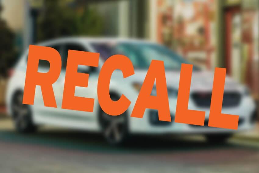 Subaru Recalls 871,000 Vehicles