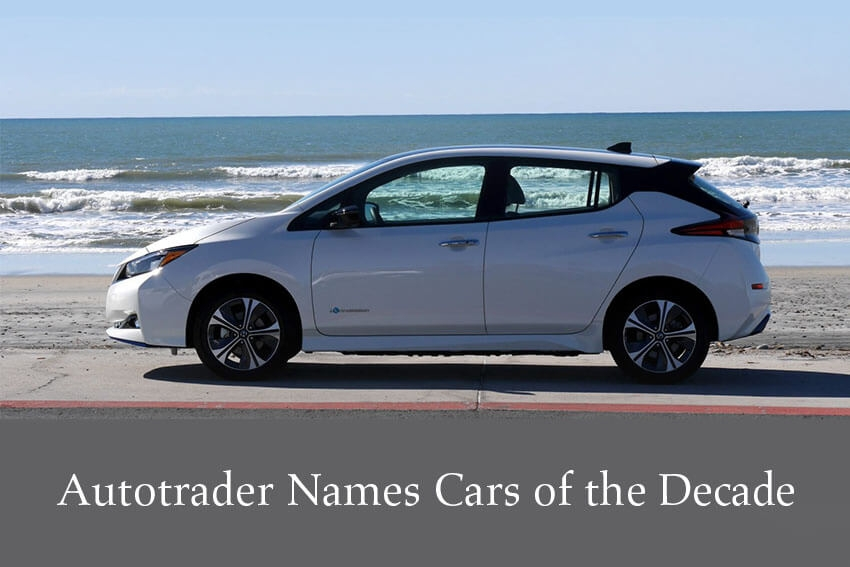 Autotrader Names Cars of the Decade