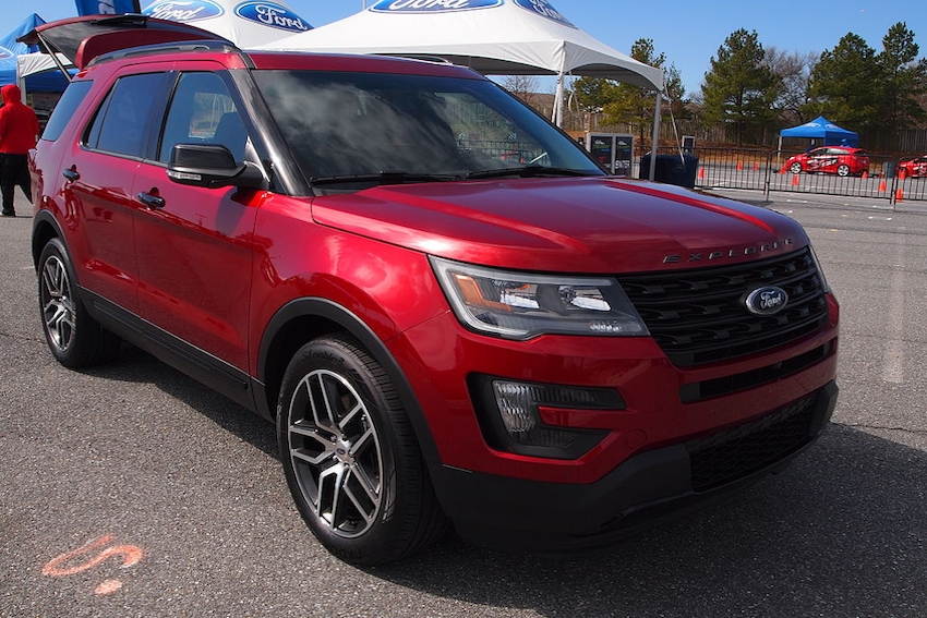 Ford Issues New Explorer Recall
