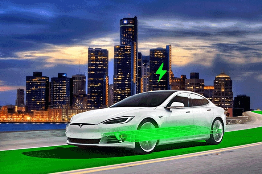 Michigan To Build First Electrified Road For EV Charging