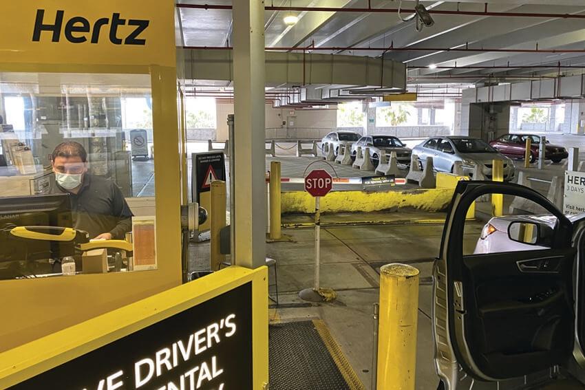 Hertz Secures Financing