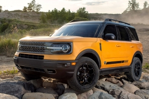 The 2020 Ford Bronco two-door base-model starts at $29,995 with the four-door starting at $34,695