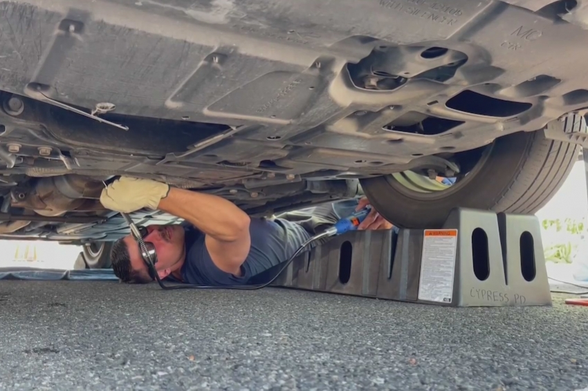 Police Bust Catalytic Converter Thieves
