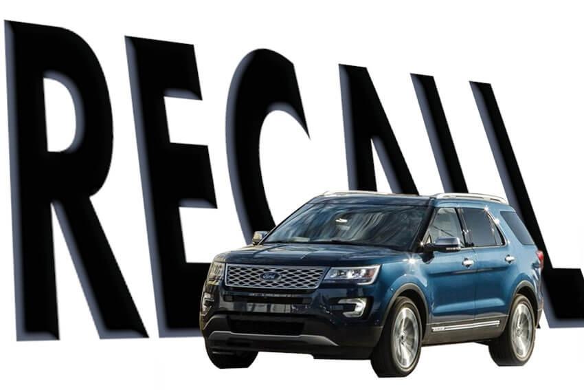 Ford Recalls Over 700,000 Explorers
